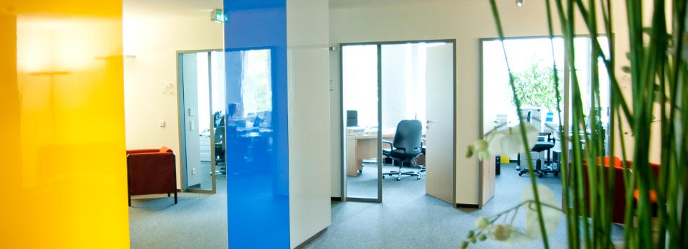Bild der Büroräume